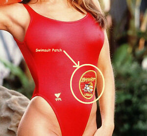 image is loading fancy dress halloween costume party prop patch baywatch - Halloween Swimsuit