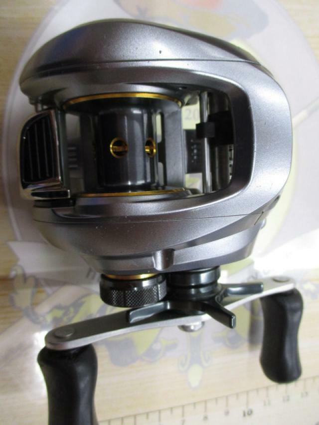 Used Shimano 09 Japan ALDEBARAN Mg RH Baitcasting Reel Japan 09 F/S 073 f4b53c