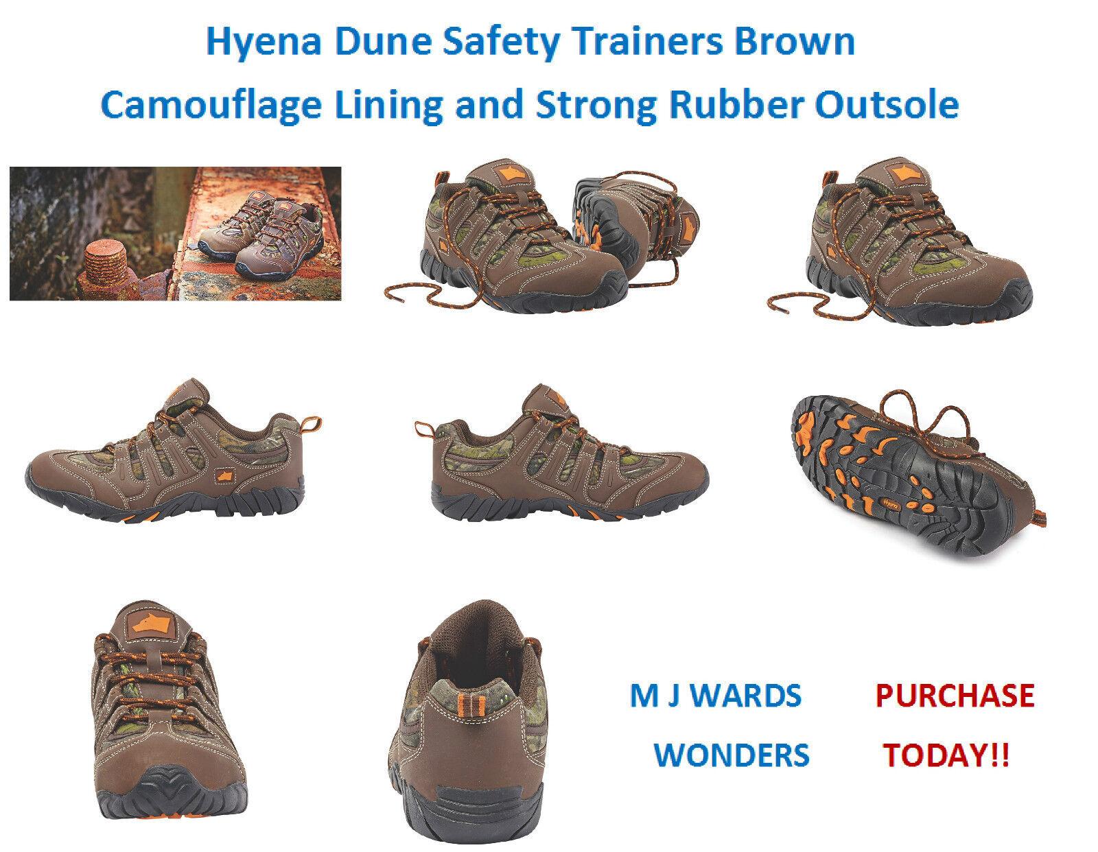 HYENA e Dune sneakers da Marrone Camouflage Fodera e HYENA forte suola in gomma 1078fc