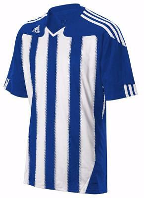 ADIDAS Hommes ClimaCool Stricon ss manches courtes à rayures football jersey top t shirt | eBay