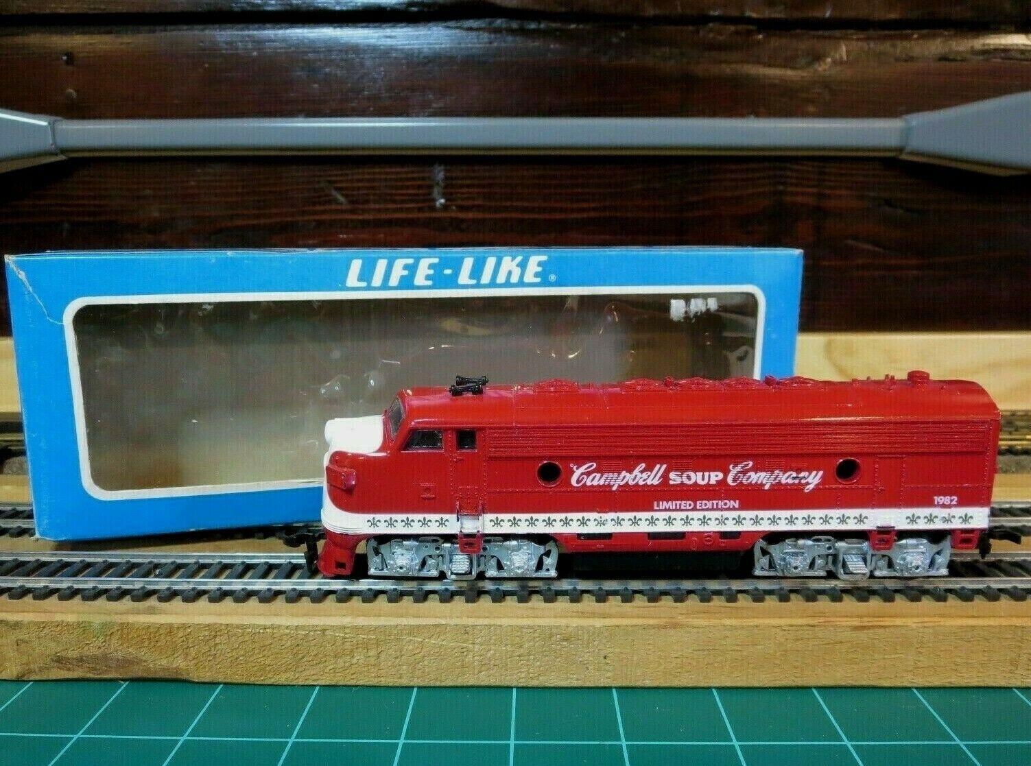 Life-Like 5373 HO EMD F7A  Powered Locomotive  Campbell Soup Company  Limited