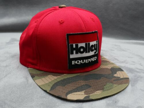 Holley Equipped red camo snapback - image 1
