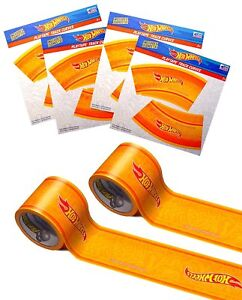 "Hot Wheels PlayTape 2 Pack Blue 30'x1.75"" - Road Car Tape Great for Kids(Orange)"