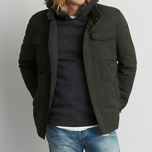 55a8c043aa2 American Eagle Outfitters Men s AEO Nylon Military Jacket Coat XS
