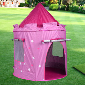 Image is loading Portable-Pink-Folding-Play-Kids-Pop-Up-Tent- & Portable Pink Folding Play Kids Pop Up Tent Girl Princess Castle ...