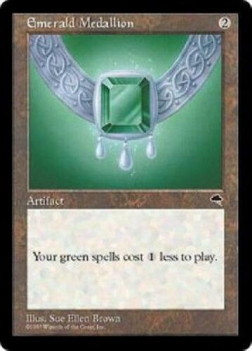 Emerald Medallion PL MTG Tempest Magic