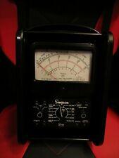 Simpson 260 Series 6 6rt Roll Top Analog Vom Volt Ohm Meter Multimeter