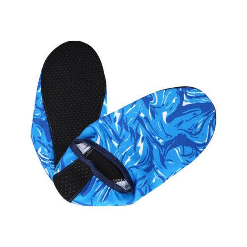 Mens Womens Non-slip Water Skin Shoes Socks Beach Swim Diving Wetsuit Surf Solid