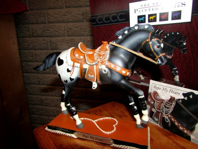 1st Edition New in Box Trail of Painted Ponies RODEO DREAMS FIGURINE Retired