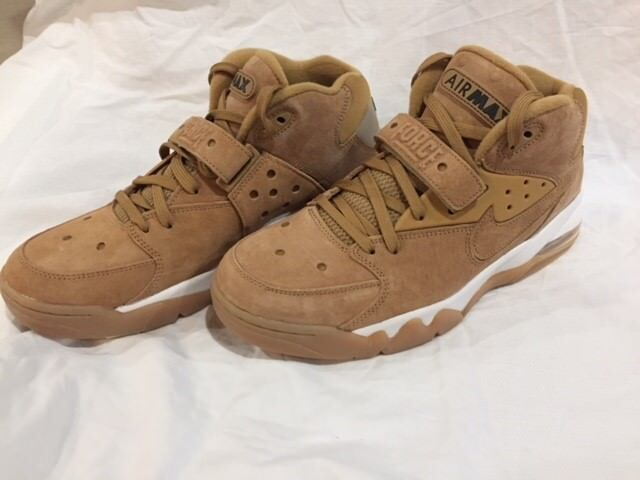 Nike Air Force Max PRM Flax Wheat Barkley NO BX TOP