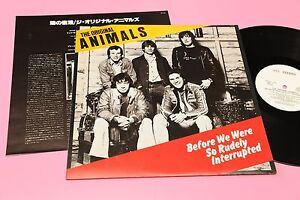 ANIMALS-LP-BEFORE-ORIG-JAPAN-NM-AUDIOFILI-INSERTO