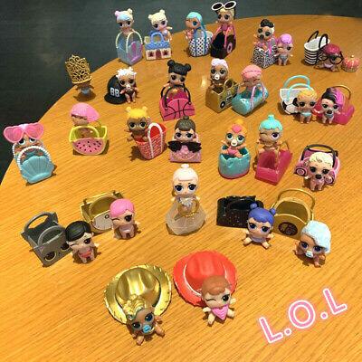 color change toy 2Pcs LOL Surprise Dolls LiL Sisters MISS BABY Rocker Series 2