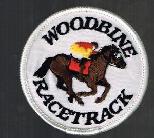 Woodbine-Racetrack-Patch-Horse-racing-nice-item