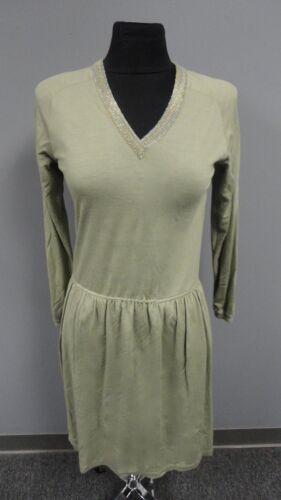 Ff3116 S gebreide For Sage maat I v hals groen Missoni jurk casual magnin wol bf7YyvI6g