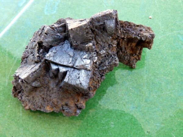 "Calificado Minerales "" Fabulosa Pirita Pseudomorfica De Carratraca (malaga) - 3a16 ""."