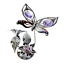 Crystocraft-Butterfly-Ornament-Crystal-Ornament-Swarovski-Elements-Gift-Box thumbnail 5