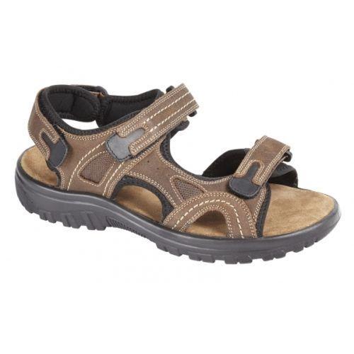 Urban piatto Mens Shoes 12 Beach Walking Uk in pelle 6 Brown Sandali Jacks Boys New qZ6yZw8gt