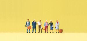 Preiser 79187 Spur N Figuren, Stehende Reisende #NEU in OVP#