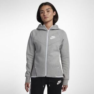 48b082b82 Nike Sportswear Tech Fleece Windrunner Women's Full-Zip Hoodie Gray ...
