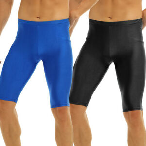 Men/'s Athletic Tight Shorts Pants Trunks Compression Elastic Fitness Quick Dry
