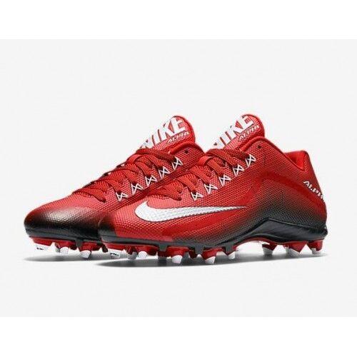NIKE ALPHA PRO 2 TD LOW MEN'S FOOTBALL CLEATS 719925-610 MSRP