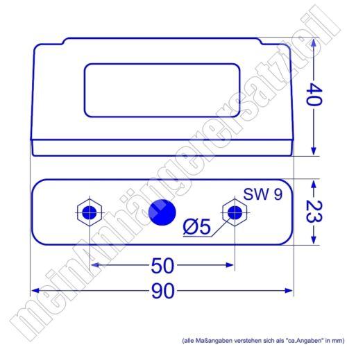 2x Hella Kennzeichenleuchten Nummernschildleuchten 2KA 006 896-001