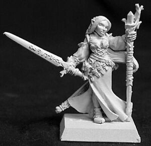 1-x-LYSETTE-MAGE-ELF-WARLORD-REAPER-miniature-figurine-jdr-rpg-d-amp-d-14022