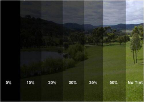 Scheiben Folie Fensterfolie Sichtschutzfolie Scheibentönung 300x50cm  5/% S.D.B.