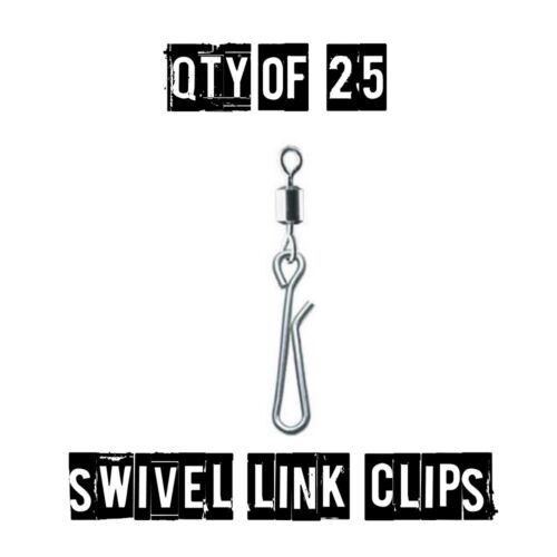 Genie Type Swivel And Link Clip Swivel Link Clip sea fishing tackle