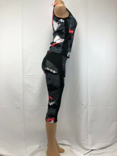 New Women Active Wear Sports Gym Yoga Workout 2 PCS Set # 937