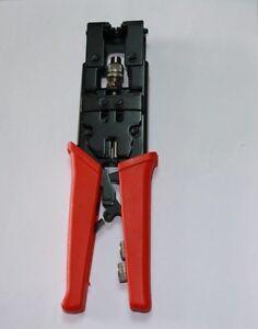 1 compression coaxial bnc rca crimp tool 1 stripper. Black Bedroom Furniture Sets. Home Design Ideas