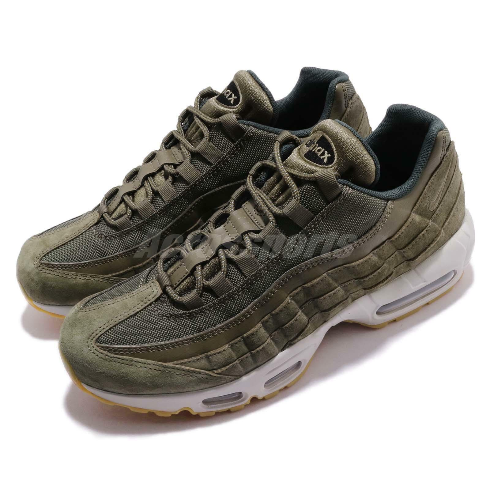 Nike Air Max 95 Canvas SE Olive Canvas 95 Gum   Running Casual Shoes Sneakers AJ2018-300 0f466f