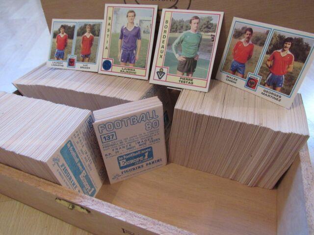 PANINI FOOTBALL 80 - 1980 - PLUS DE 1000 IMAGES NEUVES DISPONIBLES !