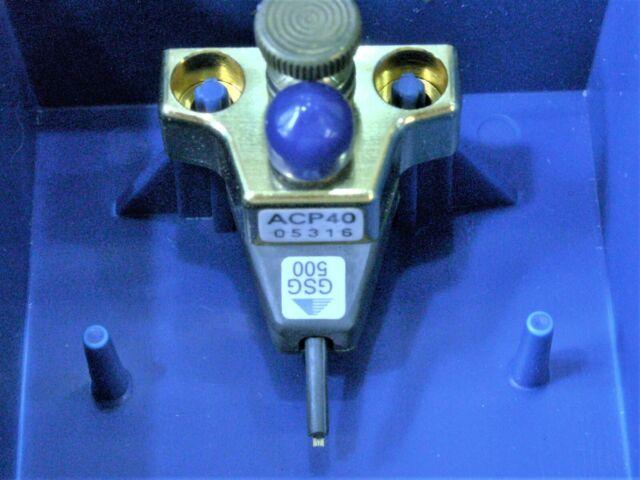Cascade MicroTech ACP50 GSG 100 MicroProbe Air Coplanar RF microwave Probe