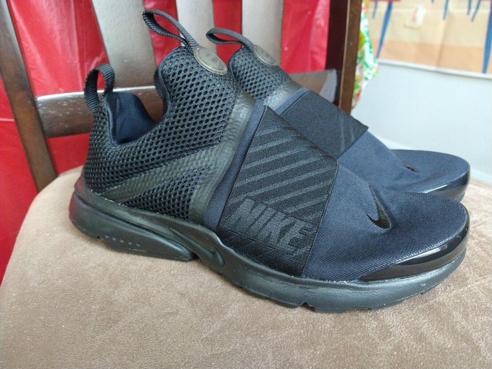 Personas mayores esposas Directamente  Nike Presto Extreme GS Kids Youth Running Shoes White Black 870020-100 UK  4.5 for sale online | eBay
