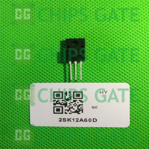 6PCS 2SK12A60D K12A60D TK12A60D Switching Regulator Applications TO-220F