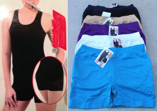 Pack Lot 1 or 3 Boxer SEAMLESS Butt Enhancer Shaping Lifter Boyshorts Panty