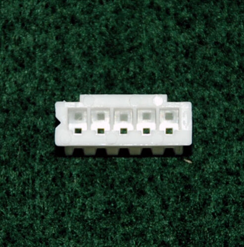 100pc JST XH Female Connector Housing pitch= 2.5mm 6P Color= White RoHS