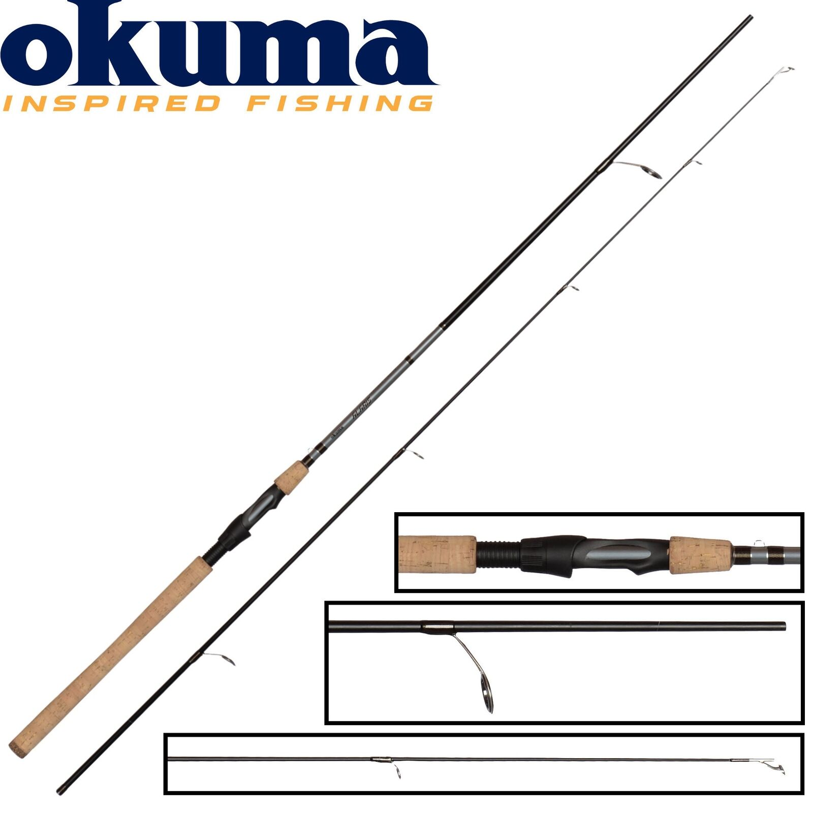 Okuma Alaris Spin FC FC FC 302cm 15-45g - Spinnrute zum Meerforellenangeln 78878c