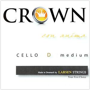 Larsen Crown Cello D String Medium Tension 4/4 Full Size