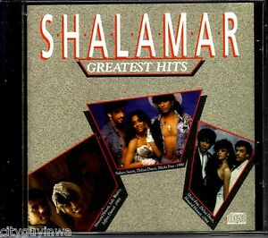Shalamar greatest hits 1989 solar label oop 1st press cd for Dance music 1989