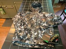 Sitka Gear Mens Downpour Jacket 50081 Elevated II Size Medium