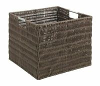 Whitmor 6500-1716-java Rattique Storage Crate, Java, New, Free Shipping