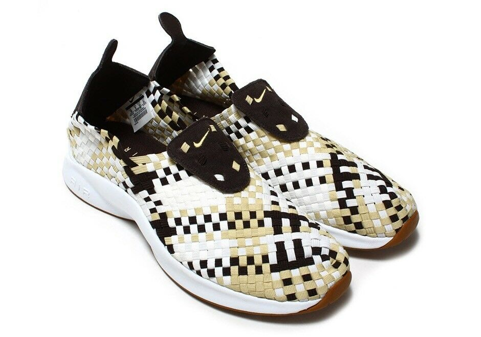 Nike air tessuti di velluto velluto velluto marrone oro vela numero 9 312422-200 cb8b03