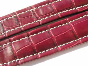Breitling-Band-P517-18mm-Croco-rot-braun-redbrown-Strap-fuer-Faltschliesse-008-18