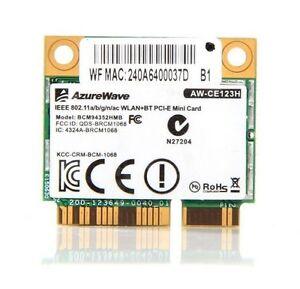 Broadcom BCM94352HMB Azurewave AW-CE123H 802.11AC 867M WIFI Bluetooth 4.0 card
