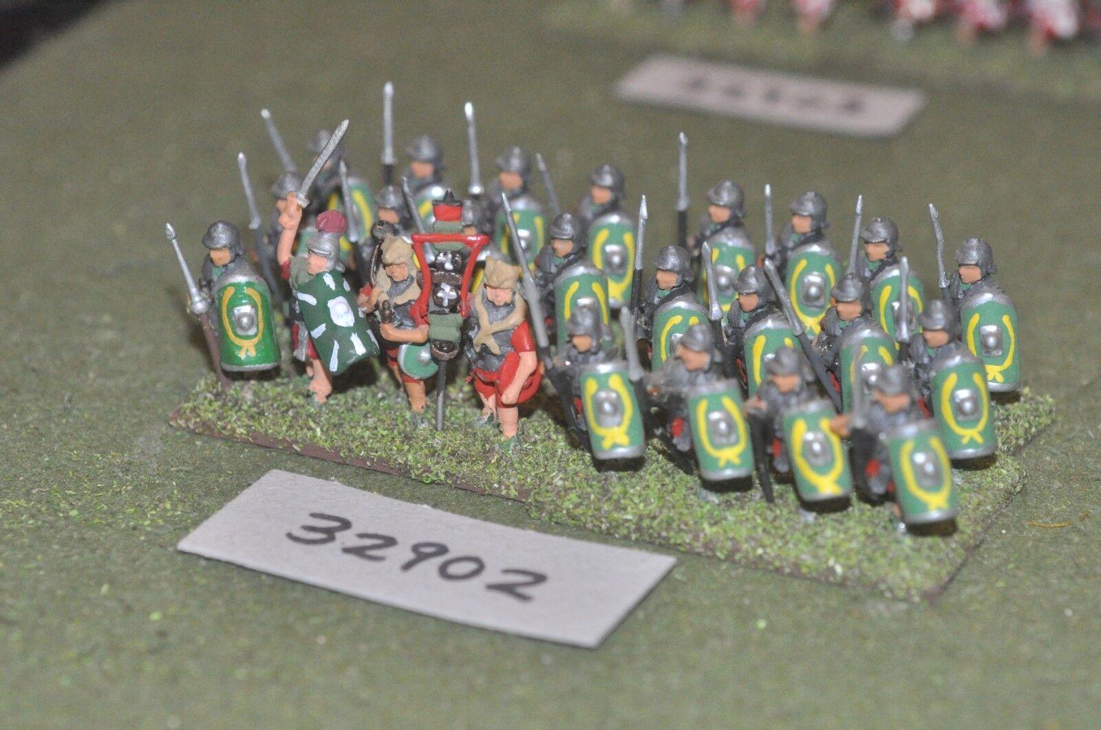 25mm roman era   roman - legionaries 24 figures - inf (32902)
