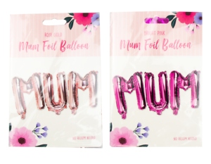 MUM-FOIL-BALLOON-Happy-Mother-s-Day-Birthday-Gift-Self-Inflatable-Rose-Gold-Pink