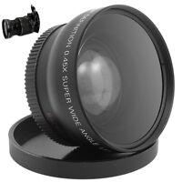 52MM 0.45 x Wide Angle Macro Lens for Nikon D3200 D3100 D5200 D5100