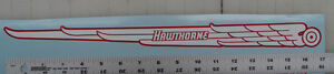 Hawthorne bicycle chainguard decal